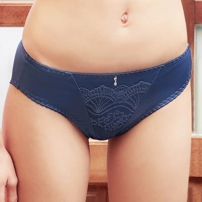 EASY-SHOP-午後漫步-中低腰三角褲-沉穩藍