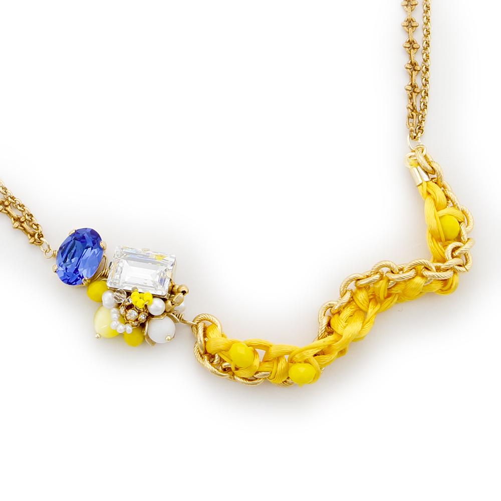 Luce Costante Giallo系列檸檬黃項鍊