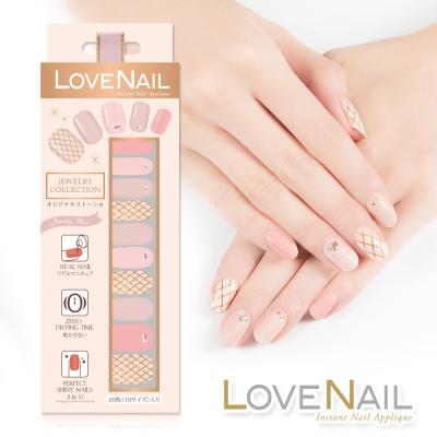 LOVE NAIL 持久指甲油貼 水鑽珠寶盒系列 極致光珠寶盒