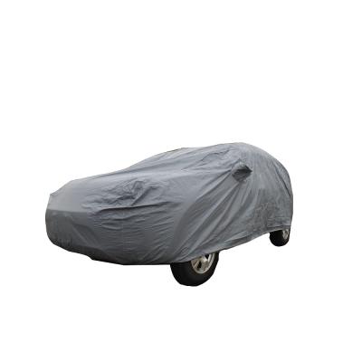 [快][金蓋樂]雙層防水抗UV車罩轎車款#中5門