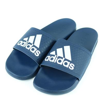 24H-ADIDAS-男休閒拖鞋AQ3116-藍