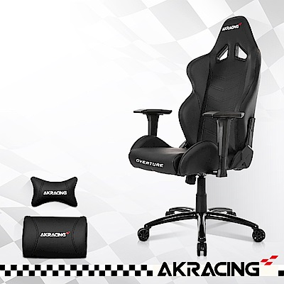 AKRACING超跑電競椅-GT33 Overture-黑-W65*D65*H129CM