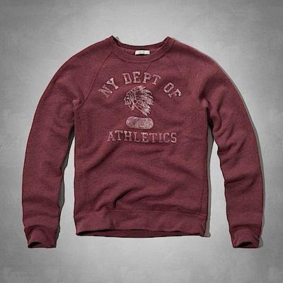 AF a&f Abercrombie & Fitch 長T 紅色 0452