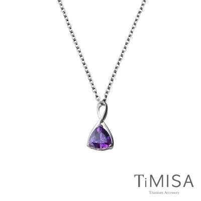TiMISA《無限的愛》純鈦項鍊(E)