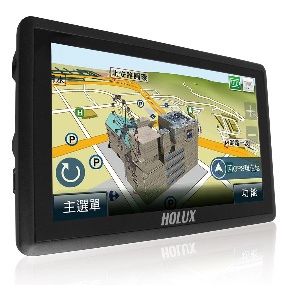 長天HOLUX GPSmile 62G 5吋 聲控 導航機