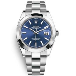 ROLEX 勞力士126300 Datejust 蠔式恆動易調鏈帶腕錶藍面-41mm