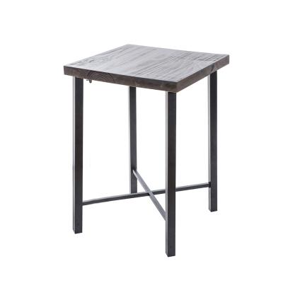 微量元素-手感工業風美式吧台桌-寬60x深60x高91cm