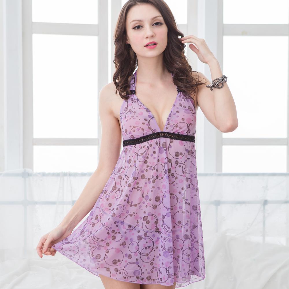 【思薇爾】夢迴系列睡衣(粉末紫)