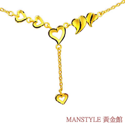 Manstyle「心上人」黃金小套鍊