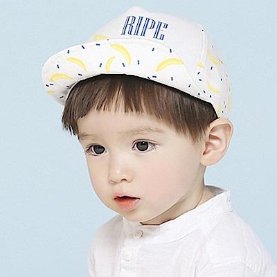 iSFun香蕉印花 英文中性兒童棒球帽 2色可選