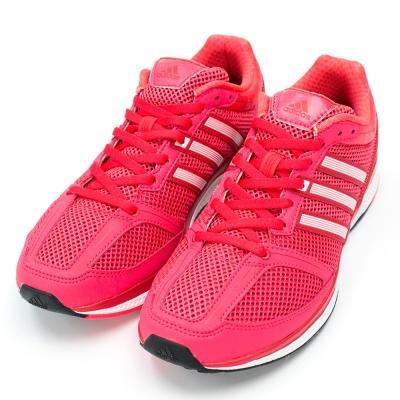 ADIDAS-女慢跑鞋B72971-紅
