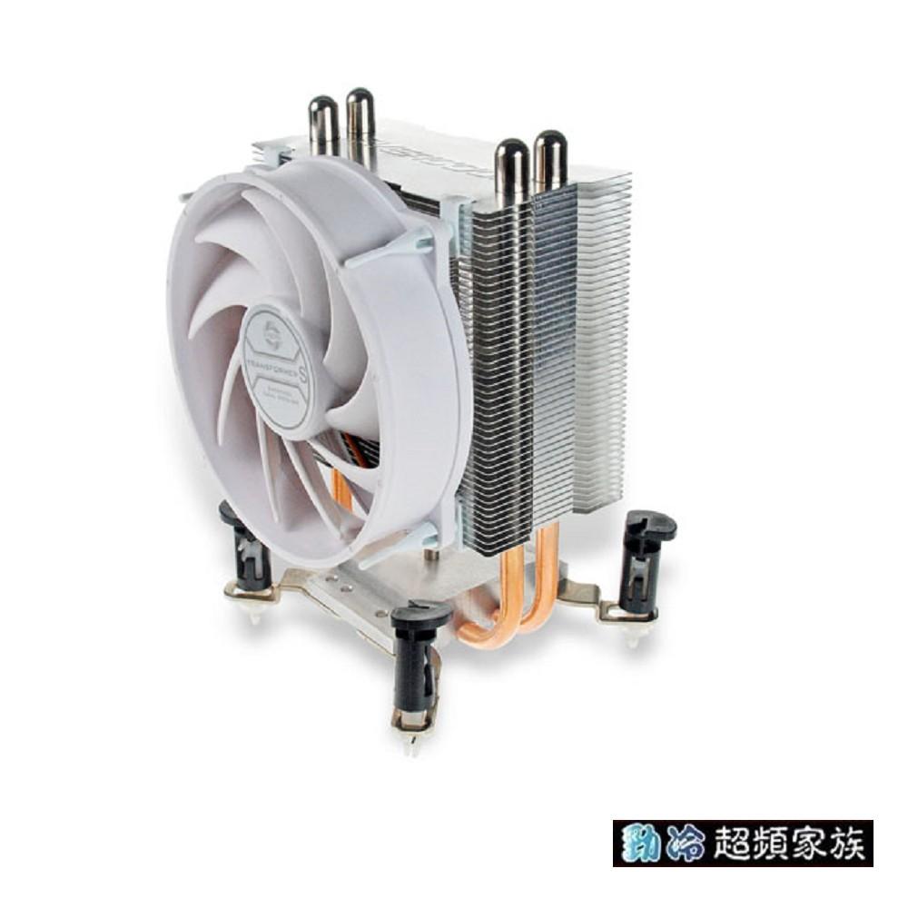 EVERCOOL 勁冷超頻家族 變形金剛S 2熱管CPU散熱器