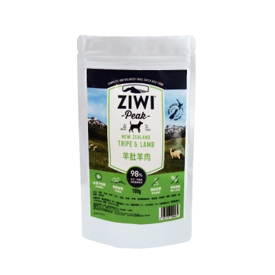 ZiwiPeak巔峰 98%鮮肉狗糧*羊肚羊肉*100G