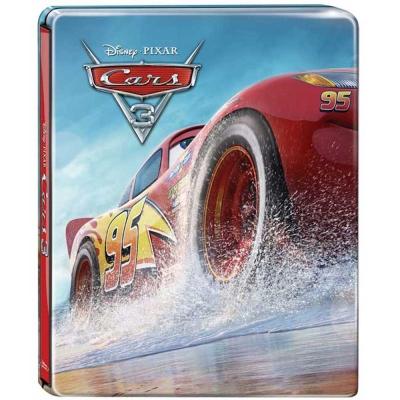 Cars 3:閃電再起 3D+2D 限量鐵盒3碟版  藍光BD