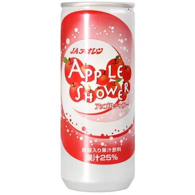 青森農協 JA蘋果果汁碳酸飲料(250ml)