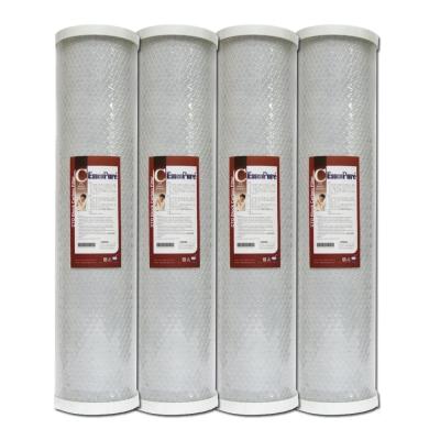 EssenPure 高品質20英吋大胖CTO濾心 [ 4支組 ]