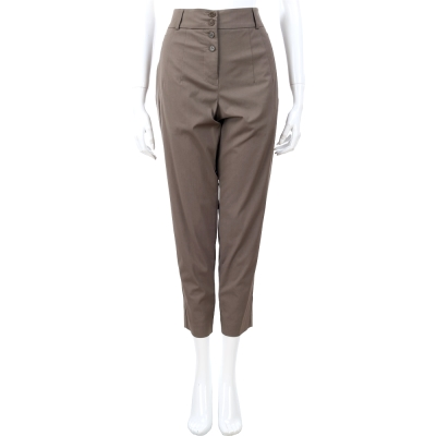 I'm Isola Marras 灰棕色排釦八分長褲