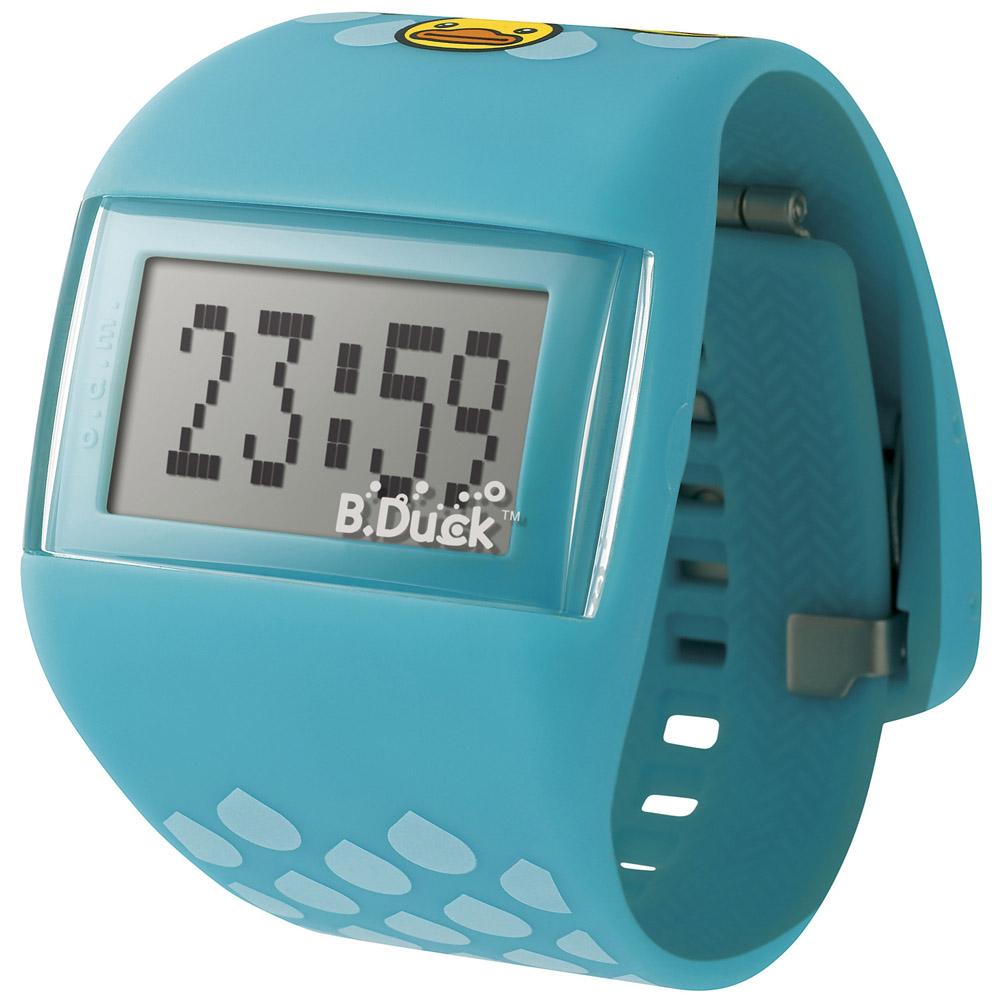 o.d.m. B. Duck系列黃色小鴨聯名童趣腕錶-藍/45mm