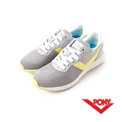 【PONY】SOHO+系列-輕甜休閒鞋-女性-星灰