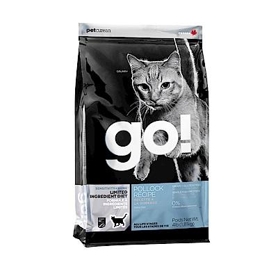 Go! 低致敏鱈魚無穀全貓配方《8磅》