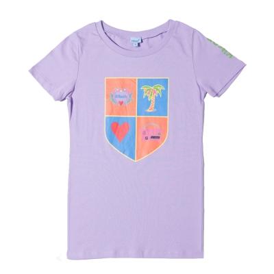 kitson 盾牌圖案T-Shirt PURPLE(S)