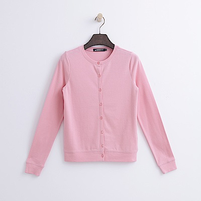 Hang Ten ~ 女裝 ~ 圓領開襟外套~粉紅色
