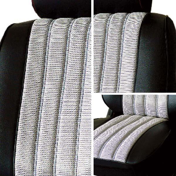 【葵花】量身訂做-汽車椅套-日式合成皮-賽車條紋-A款-轎車款/休旅車5~8人座-雙前座-第一排2人座
