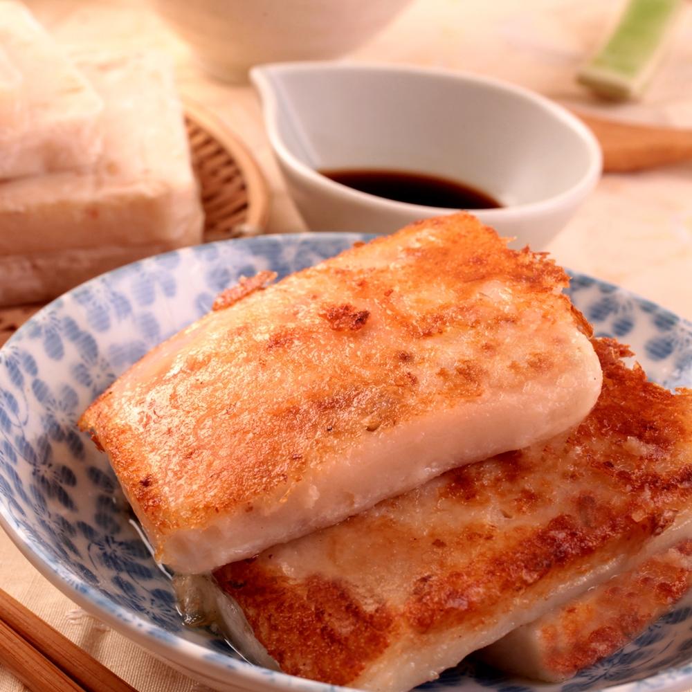 義竹赫赫-港式蘿蔔糕20包組(共200片)
