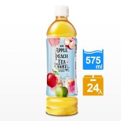 古道 雙味果茶-蘋果蜜桃茶(575mlx24瓶)
