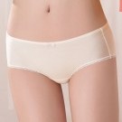 嬪婷  甜心大美眉M-LL低腰平口褲(柔和黃)