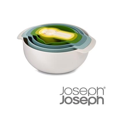 Joseph Joseph 新自然色量杯打蛋盆9件組