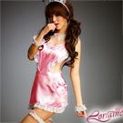 【Lorraine】甜蜜糖罐!粉紅八件式女傭服