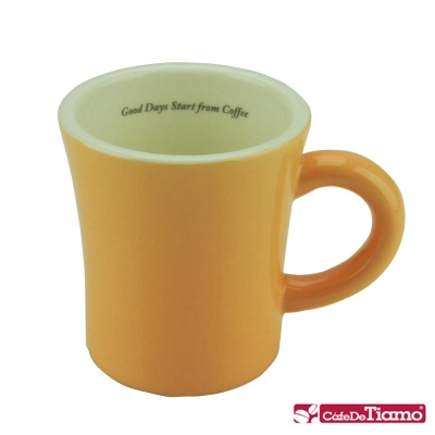 Tiamo 馬卡龍陶瓷馬克杯200cc-<b>5</b>色(HG0724)