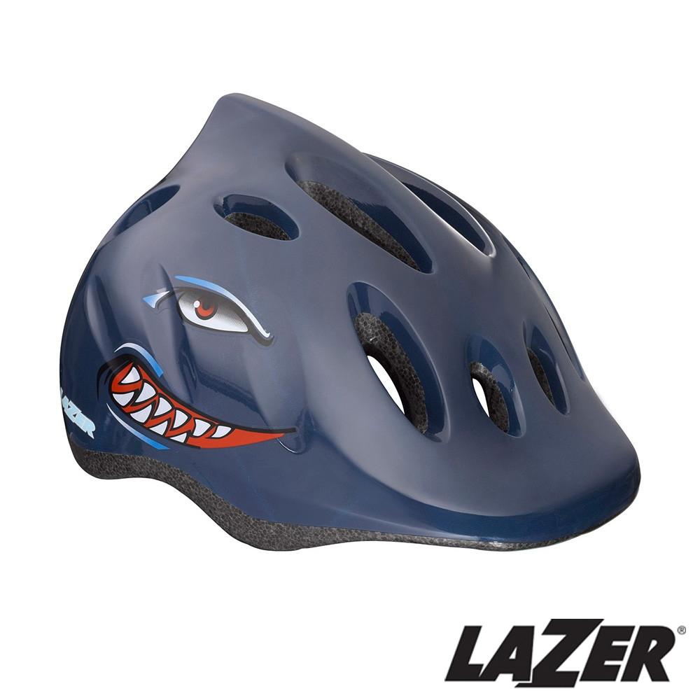 《LAZER》比利時 MAX+自行車兒童安全帽(49-56cm) 小鯊魚