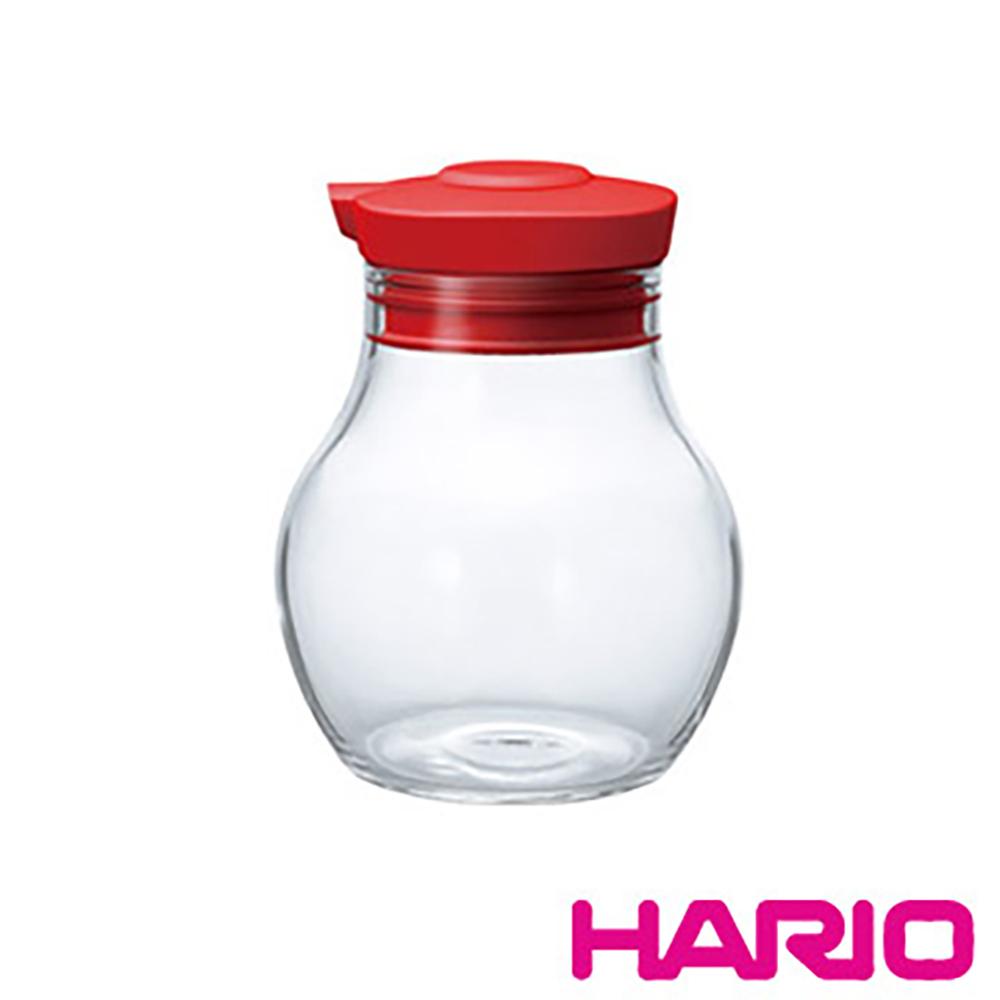 HARIO 酒紅按壓式調味罐 OMPS-120-R 120ml