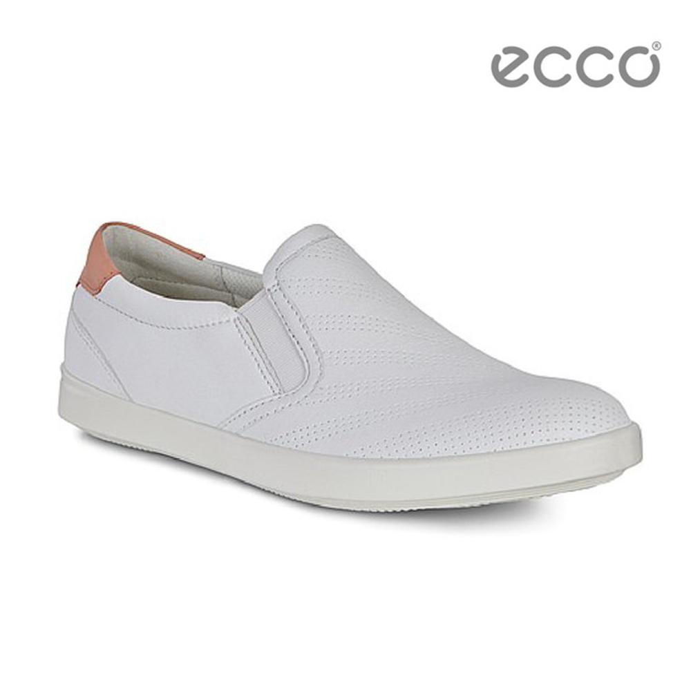 ECCO AIMEE 經典輕巧休閒鞋-白