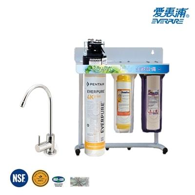 愛惠浦公司貨淨水器QL34Kplus三道式淨水器