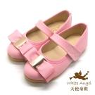 天使童鞋 J801 法式時尚公主鞋(中-大童)-粉
