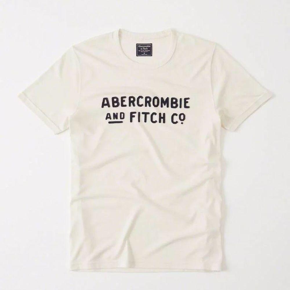 AF a&f Abercrombie & Fitch 短袖 T恤 白色 203