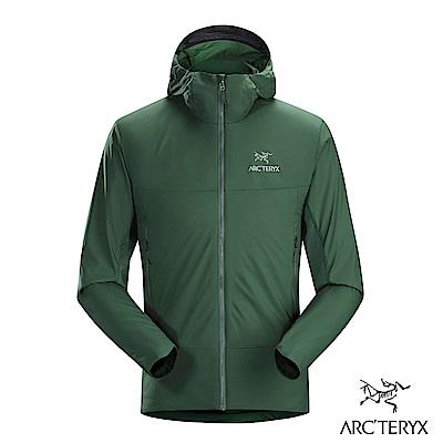 Arcteryx 始祖鳥 男 男 Atom SL 化纖保暖連帽外套 綠