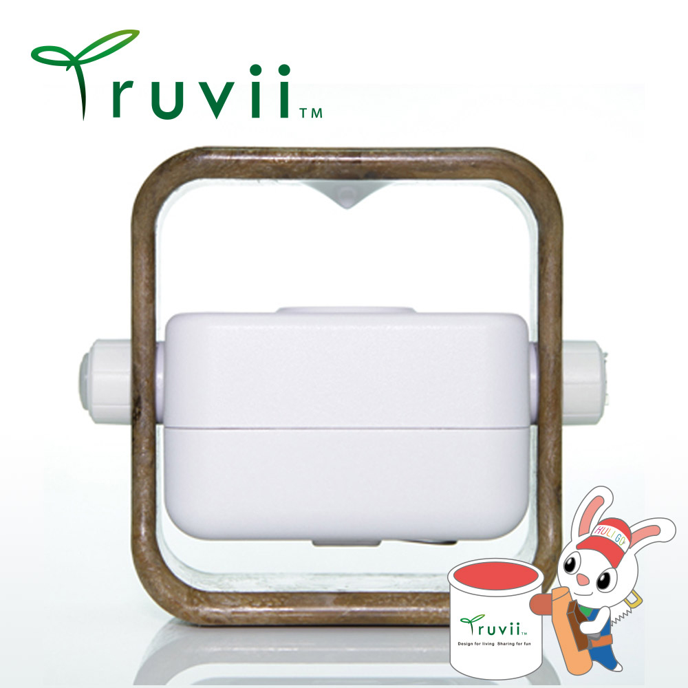 Truvii 膠框版木燈