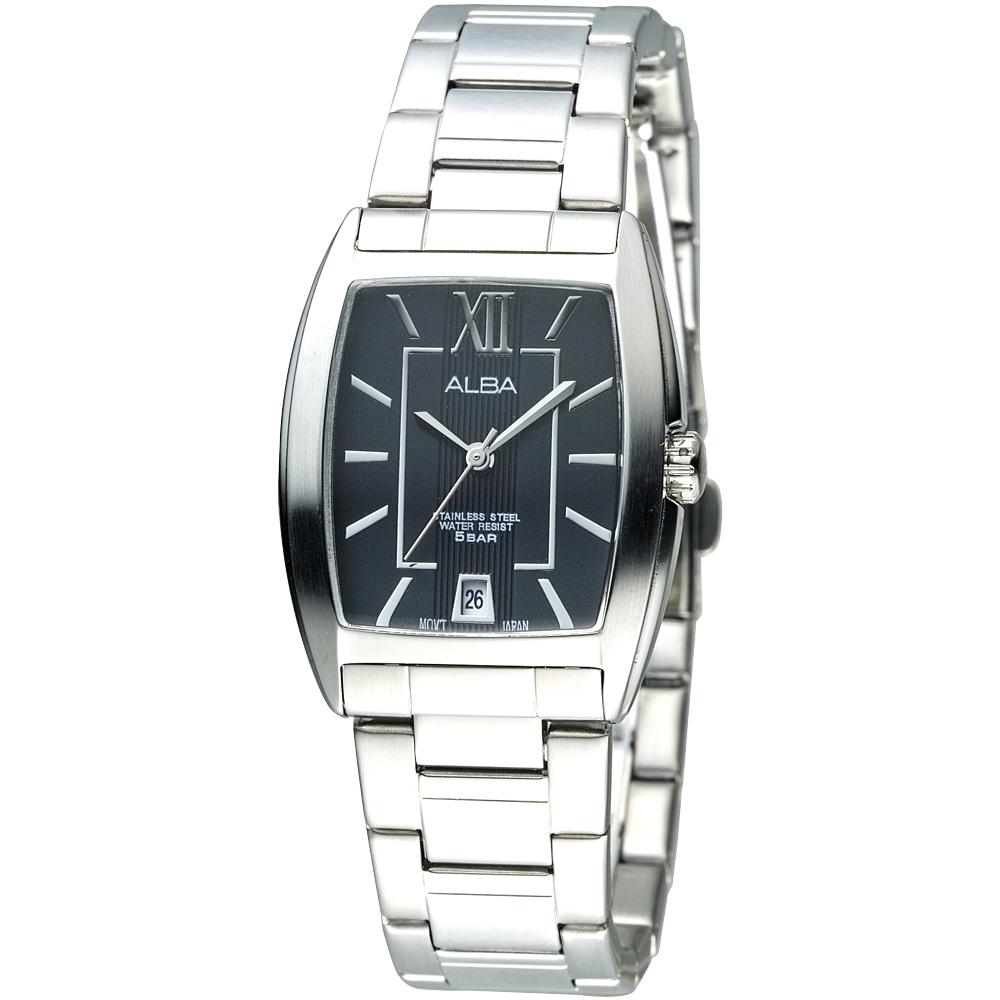 ALBA 唯美國度時尚腕錶-(AG8467X1)-黑/26mm