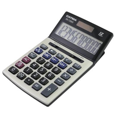 CATIGA電子式雙電源12位元稅率計算機 DS-120EX