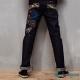 日本藍 BLUE WAY 宮本武藏五倫書低腰直筒褲 product thumbnail 1