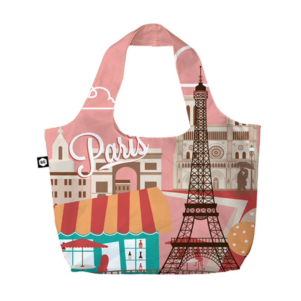BG Berlin 摺疊環保袋-巴黎