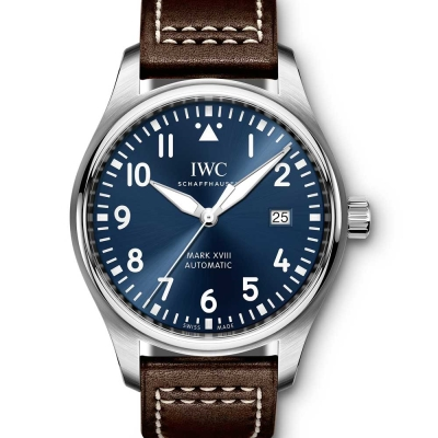 IWC 萬國錶馬克十八飛行員腕錶小王子特別版-夜藍/40mm