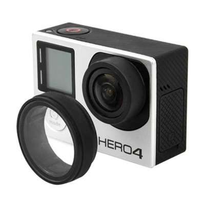 GoPro HERO 4 3+ 3 副廠 圓型鏡頭防護片 保護鏡 防護罩