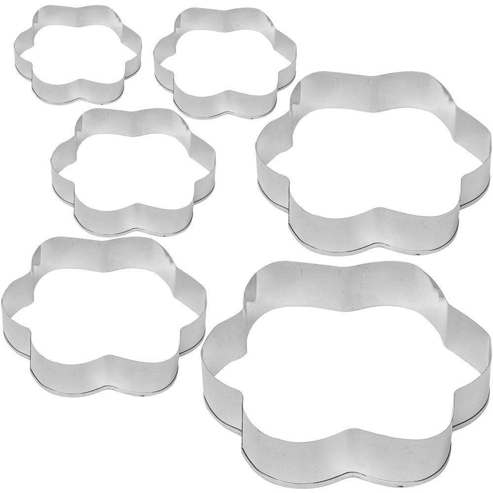 EXCELSA 大小餅乾模6件(花朵)
