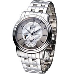 TITONI Master Series 大師系列天文台認證機械腕錶-灰+白/40mm