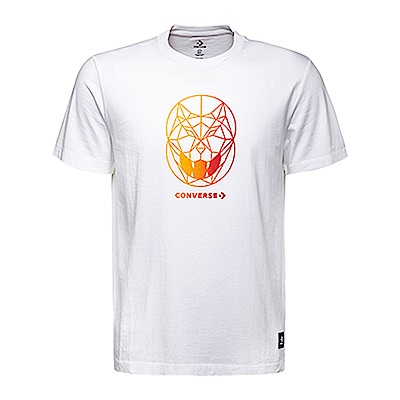 CONVERSE-男休閒短T恤10007505A01-白